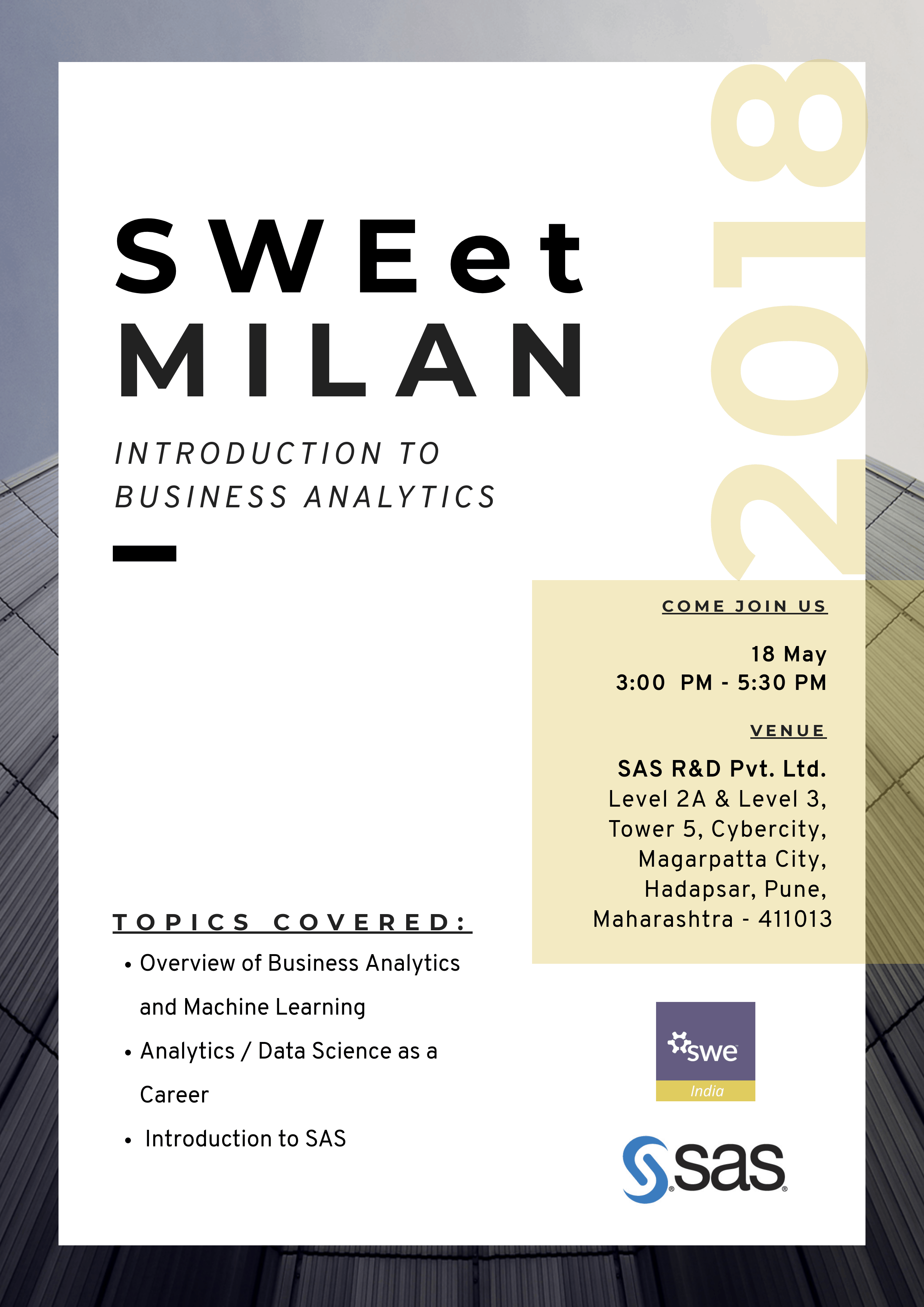 title SWEet Milan 2018 -