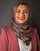 title Esraa Aburass, Coordinator, Administrative Services -