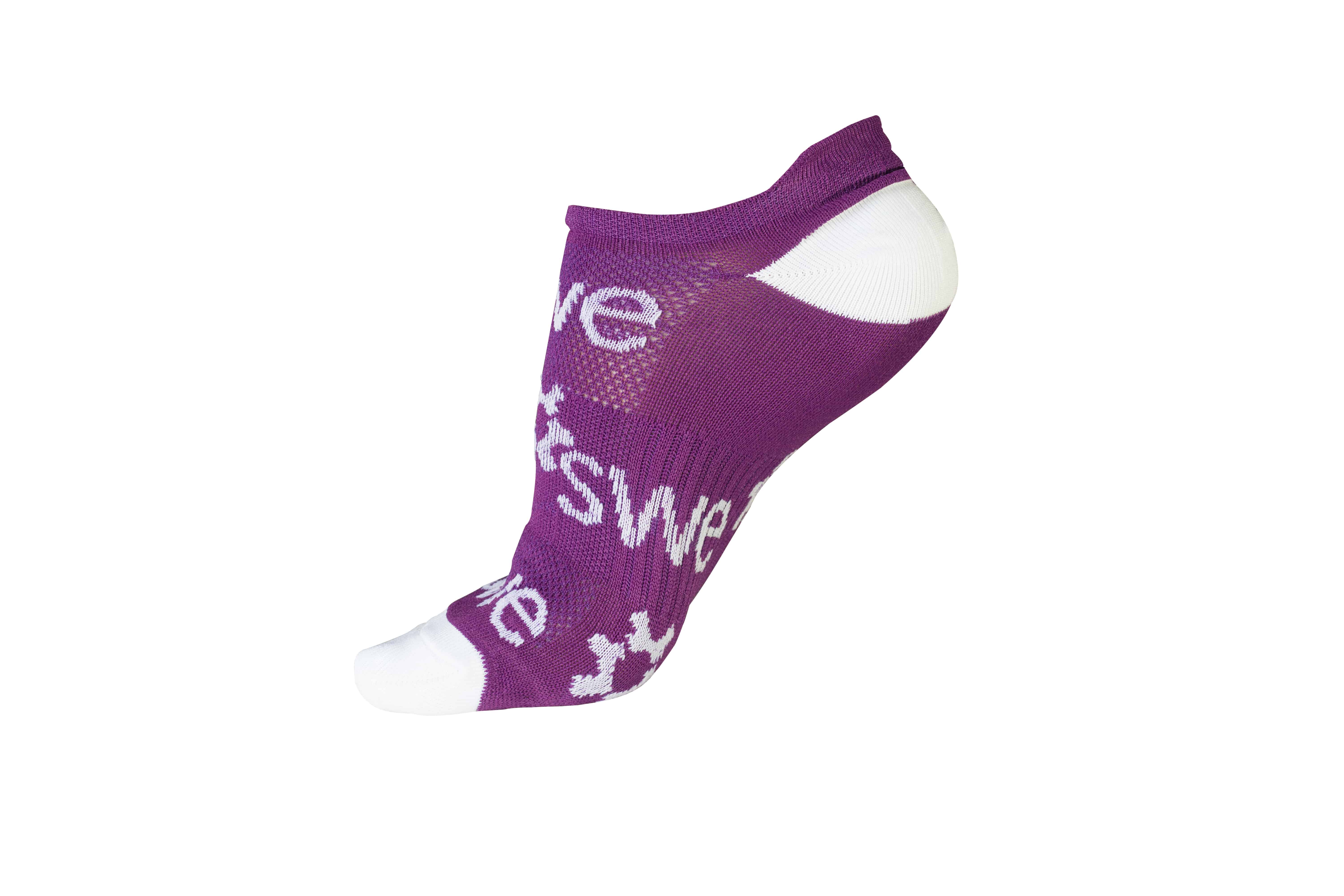 purple sock single