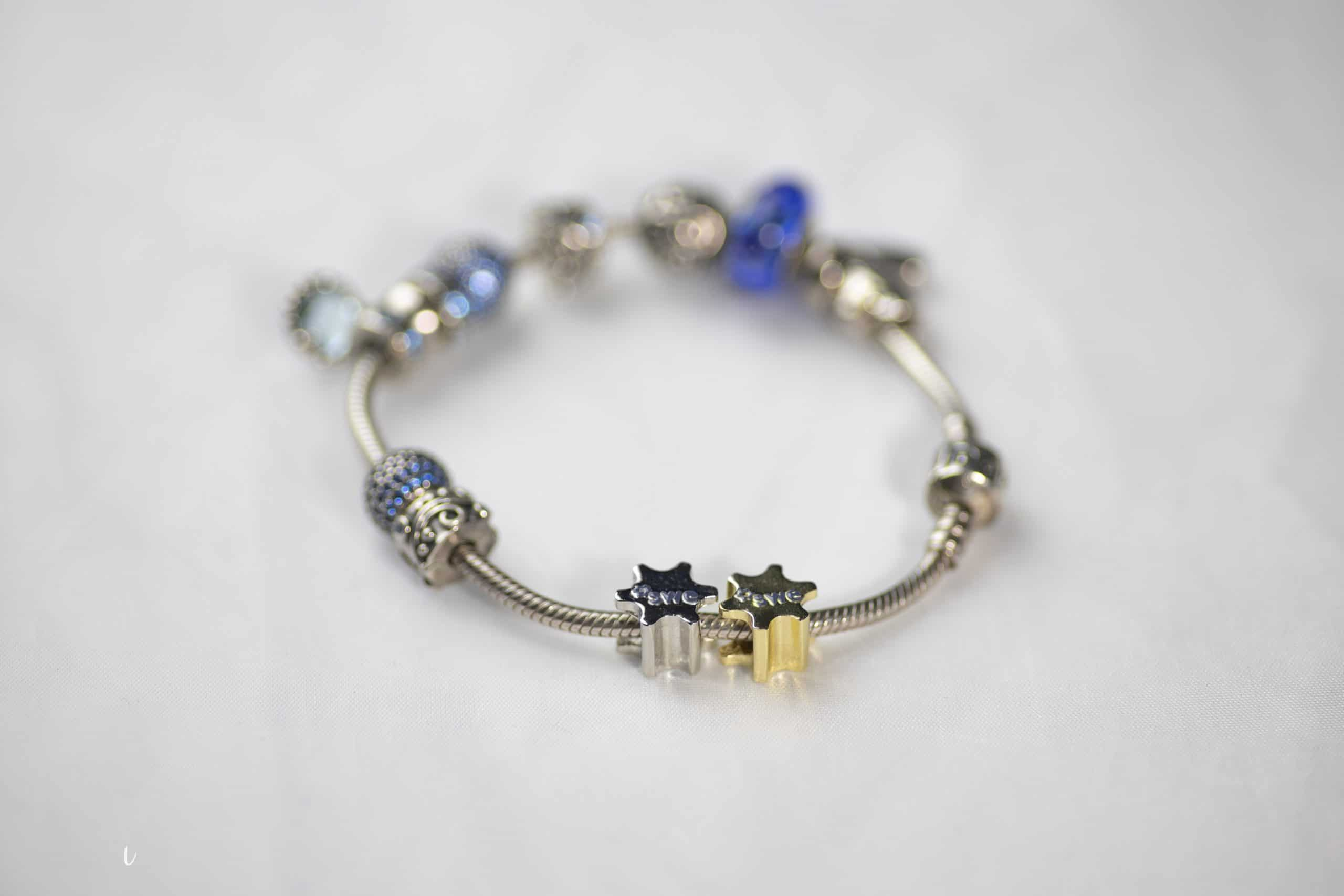 SWE Charms on Bracelet