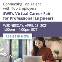 SWE Virtual Career Fair for Professional Engineers