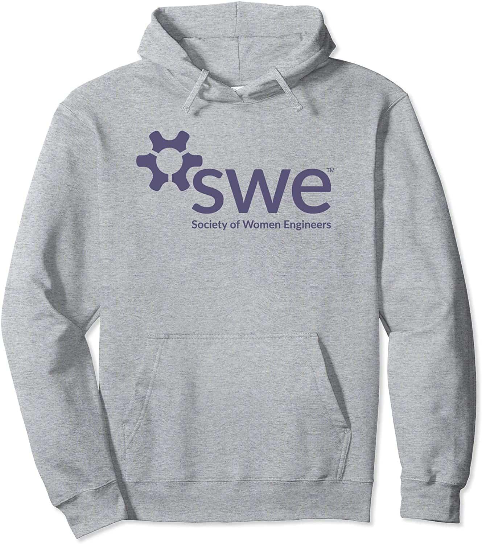 Society of Women Engineers - Purple Logo - Pullover Hoodie