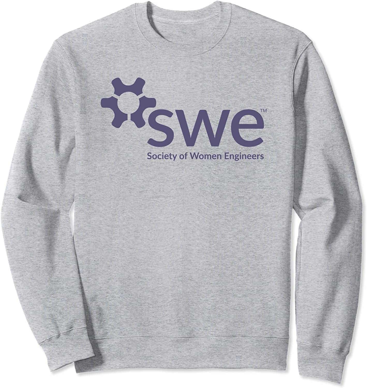 Society of Women Engineers - Purple Logo - Sweatshirt